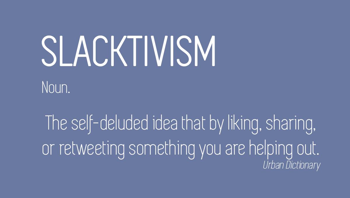 Image result for slacktivism