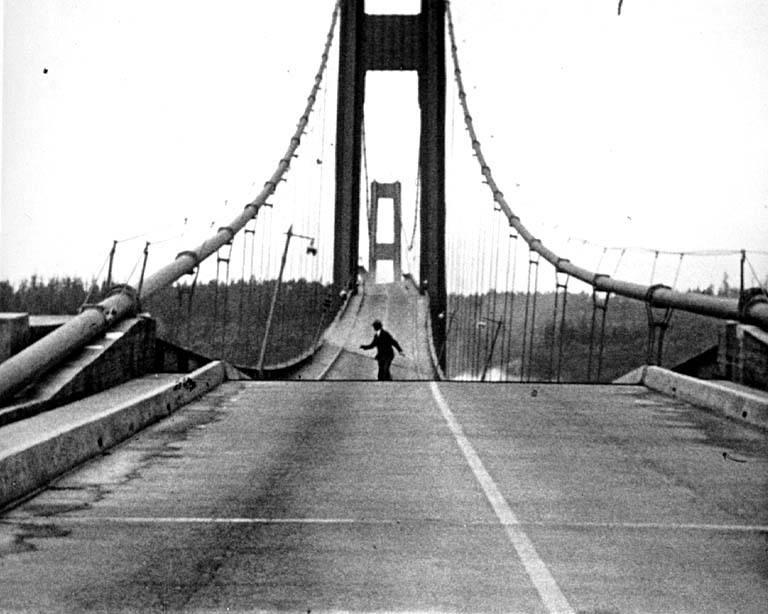 bridge collapsing