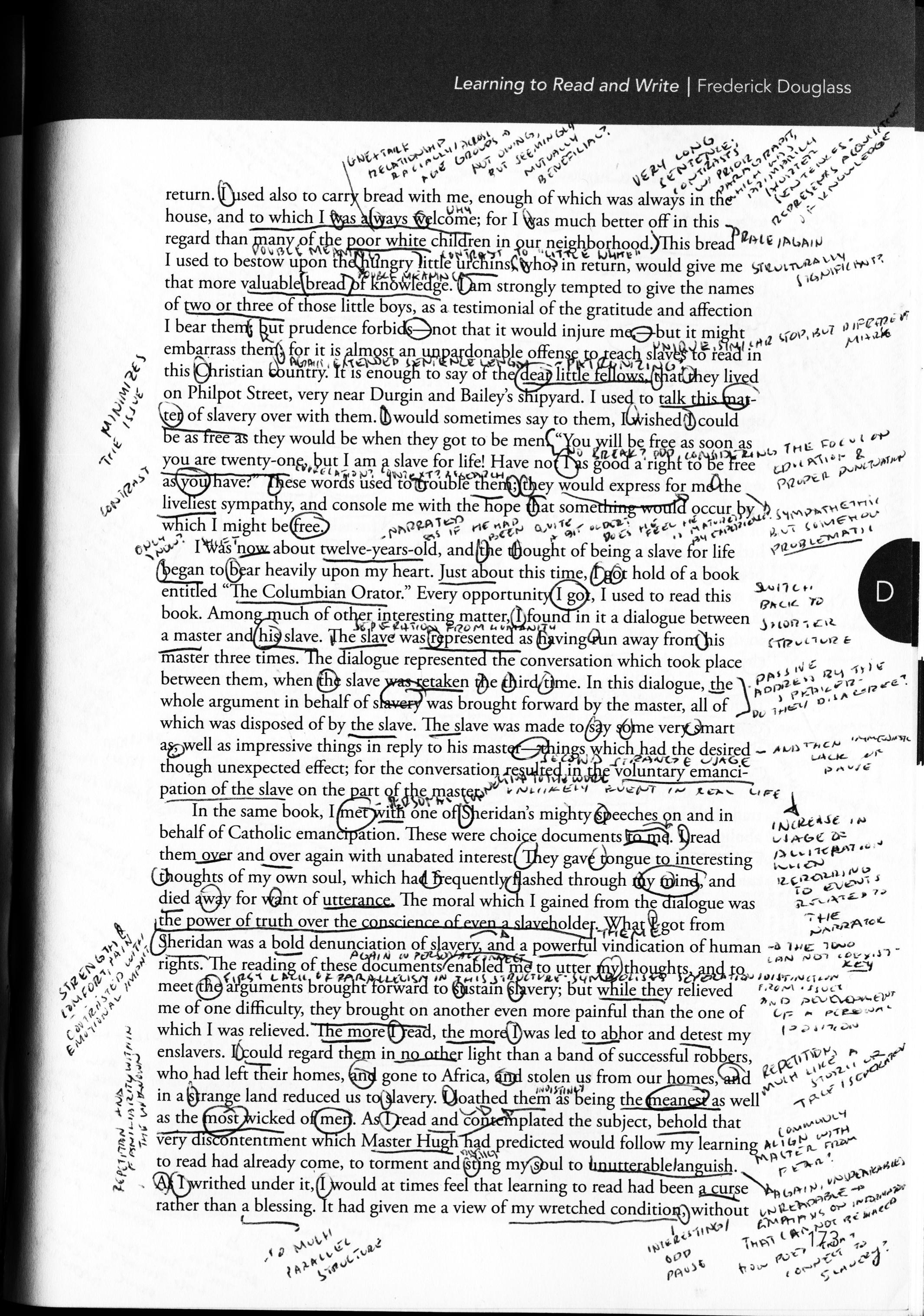 Frederick Douglass Essay Frederick Douglass Narrative Essay