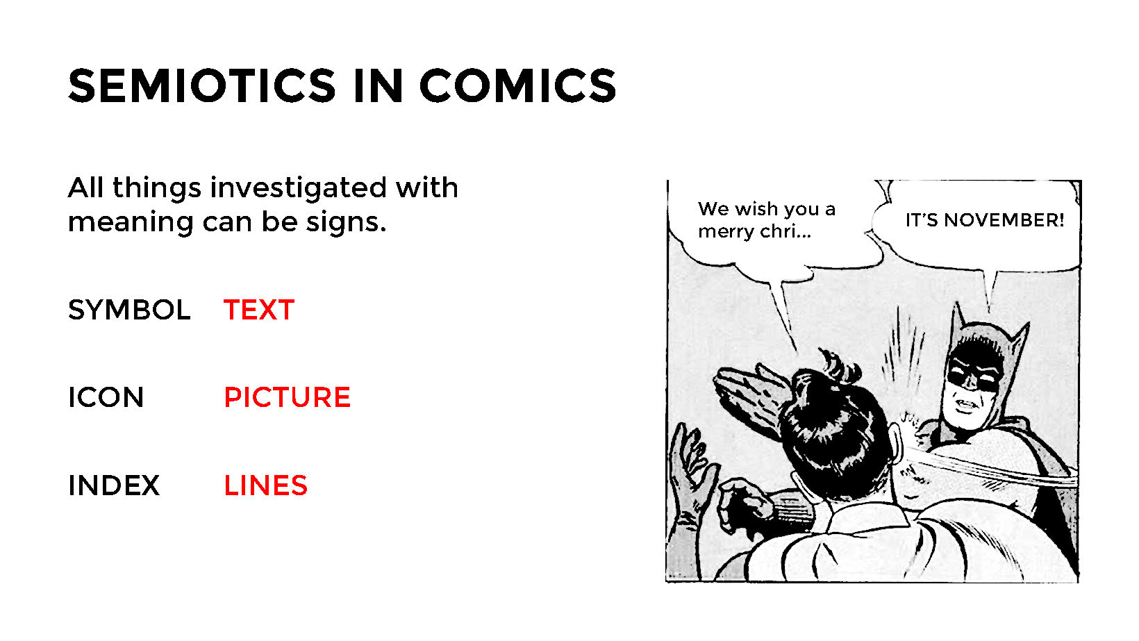 Design a comic book 3 semiotics louzhous blog written words including conversation bubbles sound effects and narrative descriptions act as symbols lines which are mainly designed buycottarizona