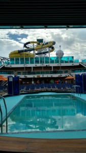 Some Carribean Cruise Ship Waterslides