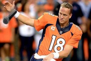 Peyton Manning Mic Drop