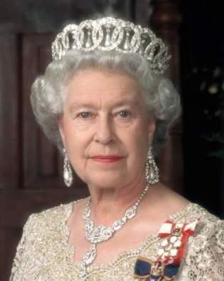 A photograph of Queen Elizabeth II