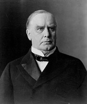 A photograph of William McKinley