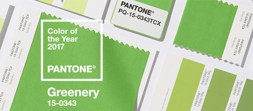THE GREEN SHIFT: PANTONE COLOUR OF THE YEAR