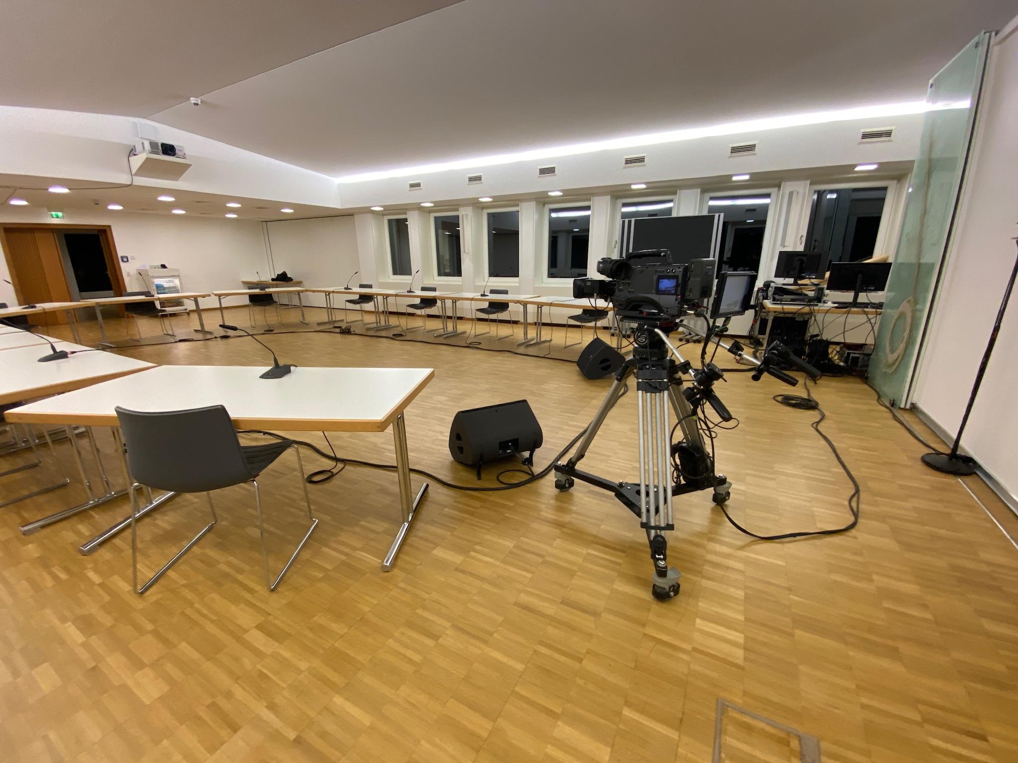 Hybrid-Event Stadt Dortmund Kamera