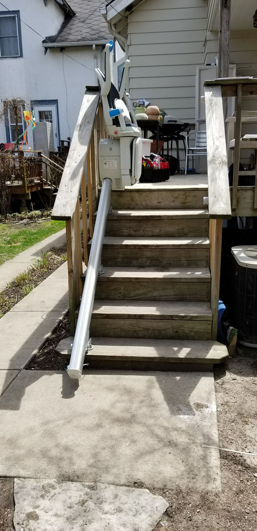 Outdoor Chair Lifts Outdoor Stair Lifts