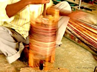 Manual Spin of Silk