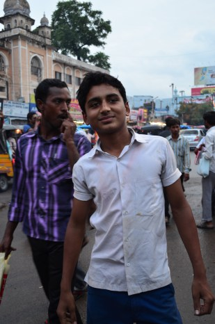 Kid from the old city of Hyderabad