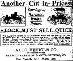 buggy whip business in technology