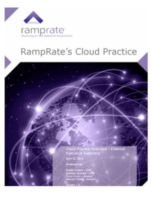 RampRate's Cloud Practice