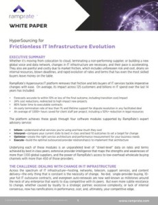 wp ramprate frictionless it infrastructure evolution