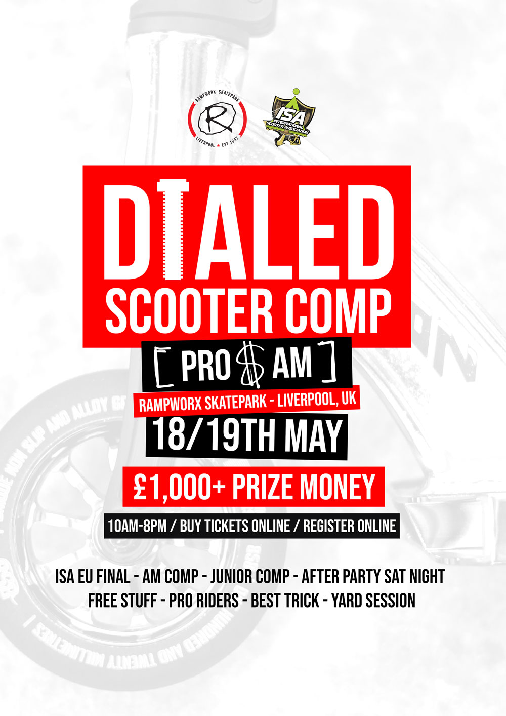 DIALED Scooter Comp - ISA EU Final 2019