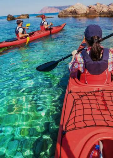 Pic of sea touring kayajk