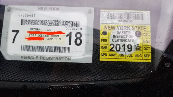 2019 State Inspection Sticker Ny Year Of Clean Water