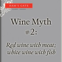 Wine Myth #2: Red wine with meat; white wine with fish
