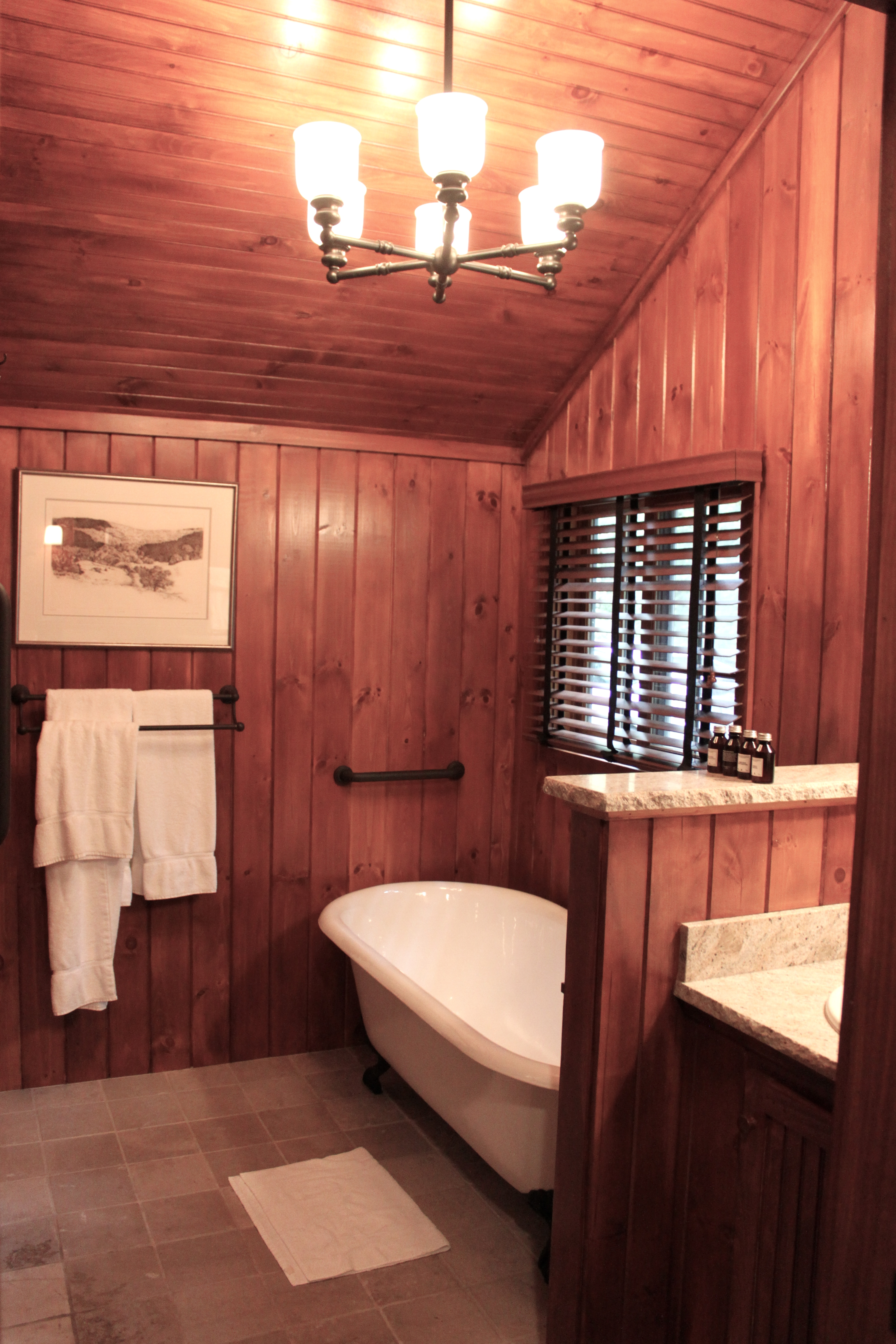 Paneling For Bathroom Bathroom Before And After And A Ramble About Wood Paneling