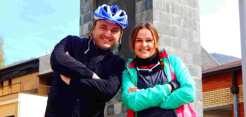 """Jelena Ćališ iz BK """"Ventus"""" uputila se biciklom za Vukovar"""