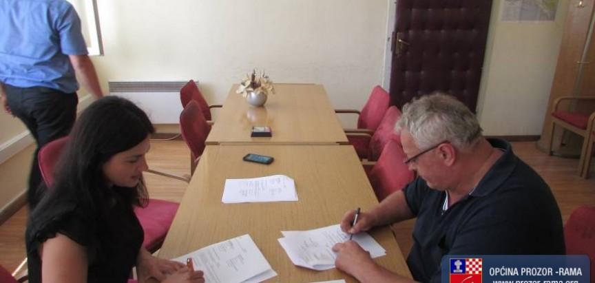 Potpisan Ugovor za dovršetak izgradnje objekta zgrade Općine u Prozoru