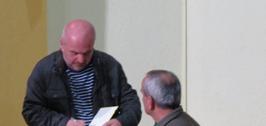 """FOTO: U Prozoru predstavljena knjiga """"Čovjek koji je pratio bubamare"""""""