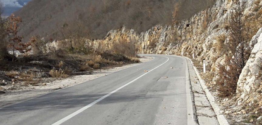 """Odroni na Makljenu koji ne brinu """"Ceste"""" d.d. Mostar"""