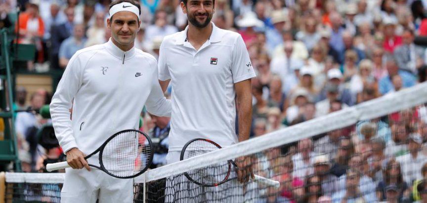 Roger Federer prošetao se pored ozlijeđenog Marina Čilića