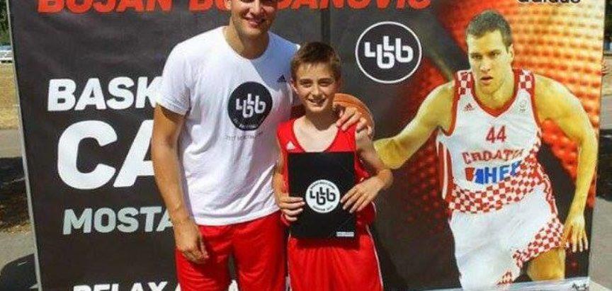 Daniel Škarica, najbolji košarkaš u  Ligi mladih Srednjobosanske županije
