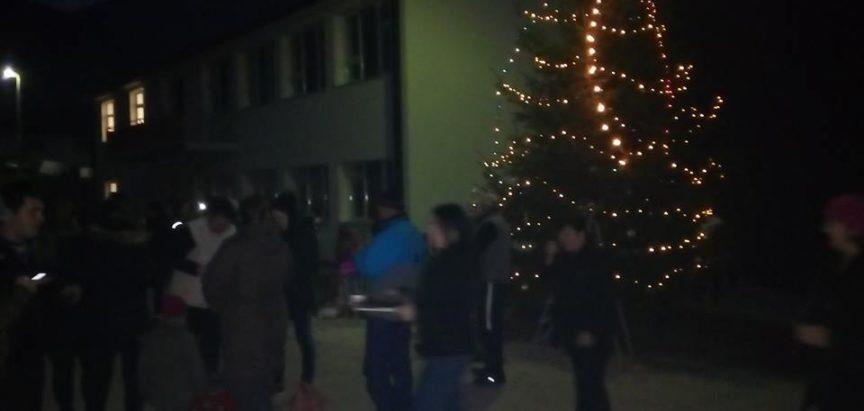 Foto: Ustramljani i ove godine zajednički nakitili božićno drvo