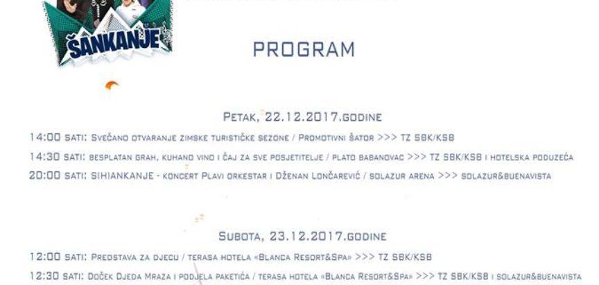 Najava: Početak zimske turističke sezone na Vlašiću
