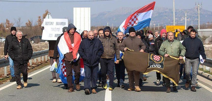 Branitelji blokirali prometnice u Federaciji BiH