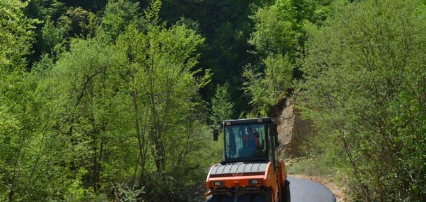 Foto: Nova dva kilometra asfalta prema Šerovini-Galići