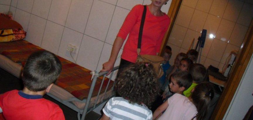 """FOTO: Mališani Dječjeg vrtića """"Ciciban"""" Prozor posjetili ramske vatrogasce"""