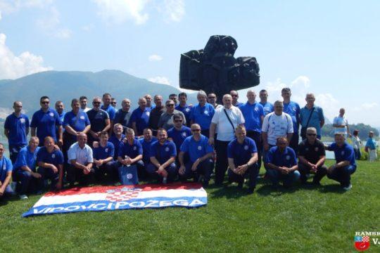 Nogometni veterani iz Požege u posjetu Rami