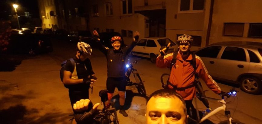 """Foto/video: Članovi BK """"Ventus"""" Prozor-Rama biciklima za Međugorje"""