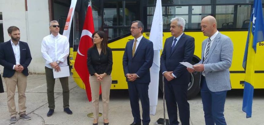 Turska uručila tri autobusa JP Mostar bus
