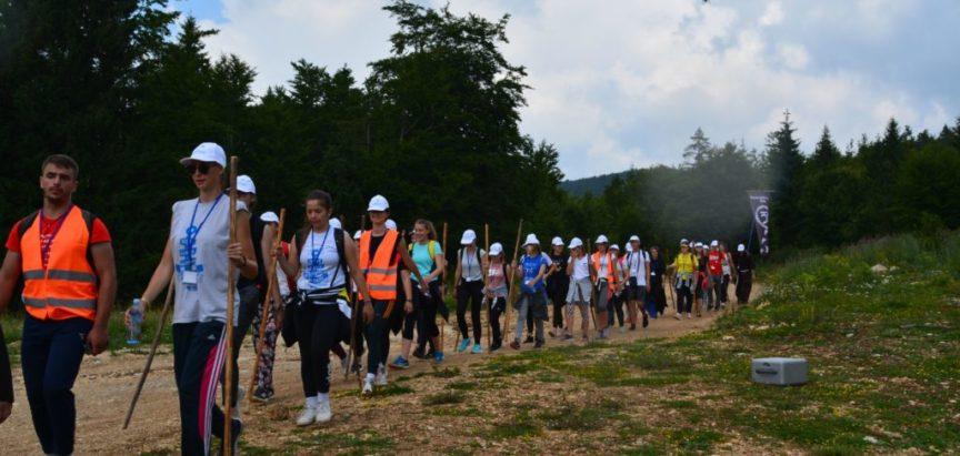 Foto: Sedmi Franjevački hod Frame Bosne Srebrne