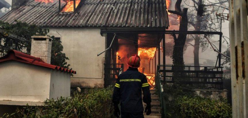 Najmanje 50 osoba poginulo u požarima u Grčkoj