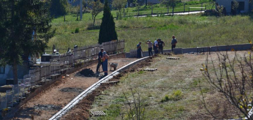 Foto: Multimedijalna župna dvorana u Rumbocima pri samom završetku