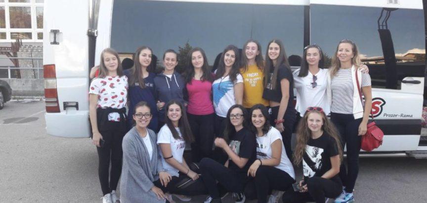 Ramske mažoretkinje otputovale na Europsko prvenstvo u Srbiju