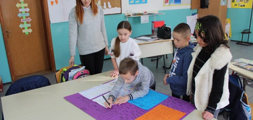 Sekcija domaćinstva PŠ Lug obilježila 100. dan škole uz zdravu ishranu