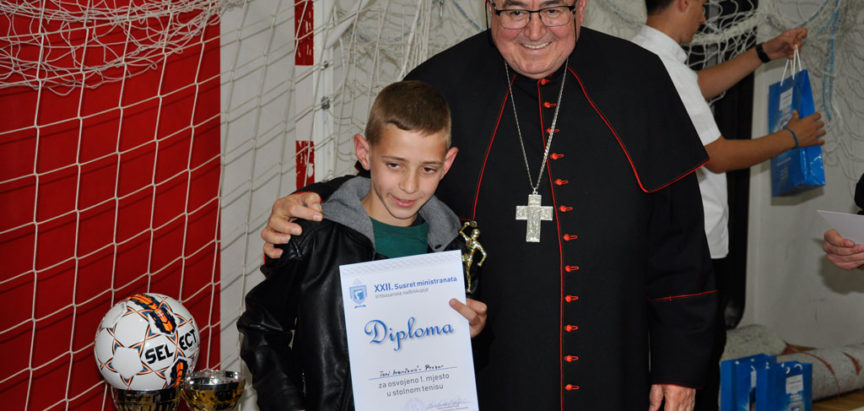 XXII. susret ministranata Vrhbosanske nadbiskupije
