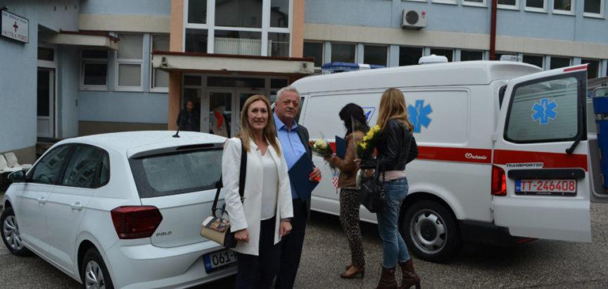 """Foto/audio: Vrijedna donacija Domu zdravlja """"Rama"""" Vlade Republike Hrvatske i općine Prozor-rama"""