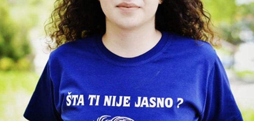 Martina Tadić, učenica generacije Srednje škole Prozor