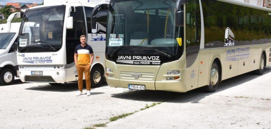"""Javno poduzeće """"Javni prijevoz"""" Prozor-Rama raspolaže sa šest voznih jedinica"""