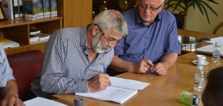 Potpisan ugovor za izgradnju kolektora otpadnih voda