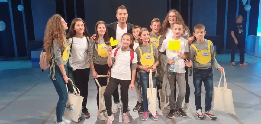 """Učenici OŠ Marka Marulića iz Prozora u polufinalu kvizu """"Svi za 5"""""""