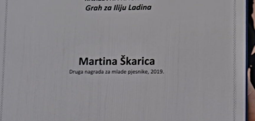Učenice Srednje škole Prozor,  Martina Škarica i Marija Stojanović osvojile drugo i treće mjesto na natječaju za mlade pjesnike