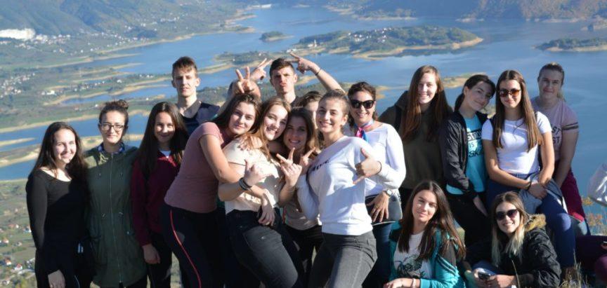 Foto/video: Učenici Srednje škole Prozor na terenskoj nastavi na Zahumu