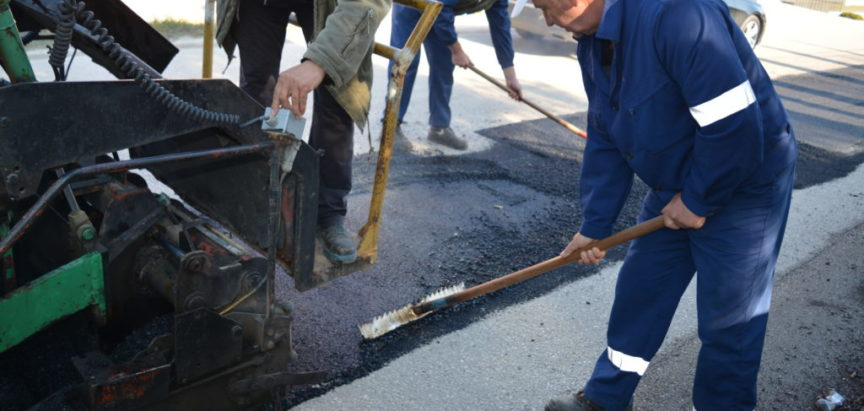 Foto/video: Završno uređenje na Ometalima na dijelovima ceste kojom se gradio vodovod
