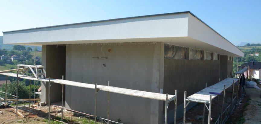 Foto/vido: Izgradnja mrtvačnice u Prozoru ulazi u drugu fazu